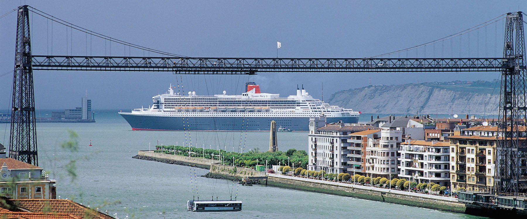 Queen Mary 2 at Port of Bilbao